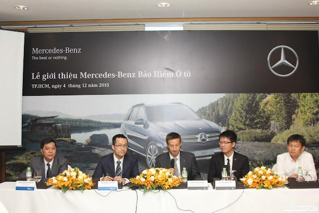 Bảo hiểm Mercedes là sự kết hợp giữa Mercedes Việt Nam và Bảo hiểm Liberty