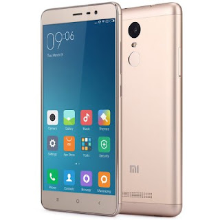 Design model Xiaomi Redmi Note 3 Pro