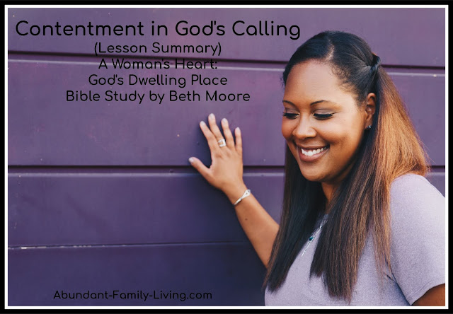 Contentment in God's Calling