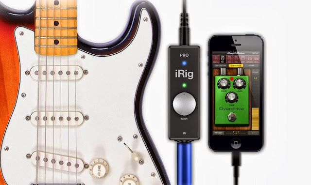 Must Have Gadgets for Guitarists - irig Pro