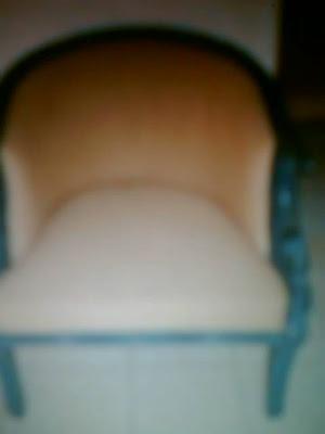 kursi furniture bekas dari  kayu jati