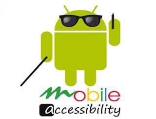 Icono de Android accesible