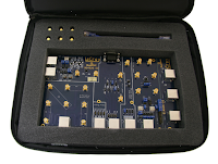 The TF-ENET-B Ethernet test fixture offers all necessary interconnects for compliance test
