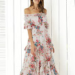 FASHION TREND: OFF SHOULDER FLORAL DRESS