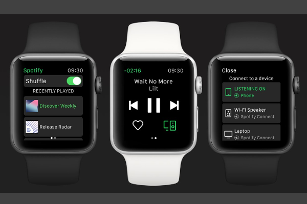 Spotify app for Apple Watch is here