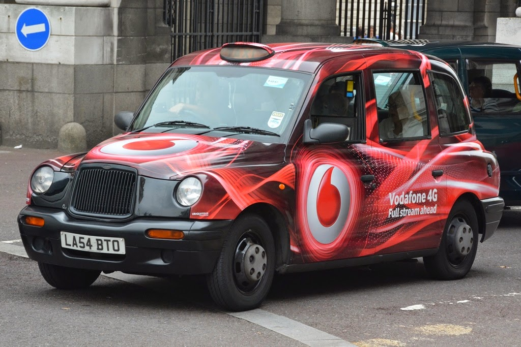 London The Mall cab