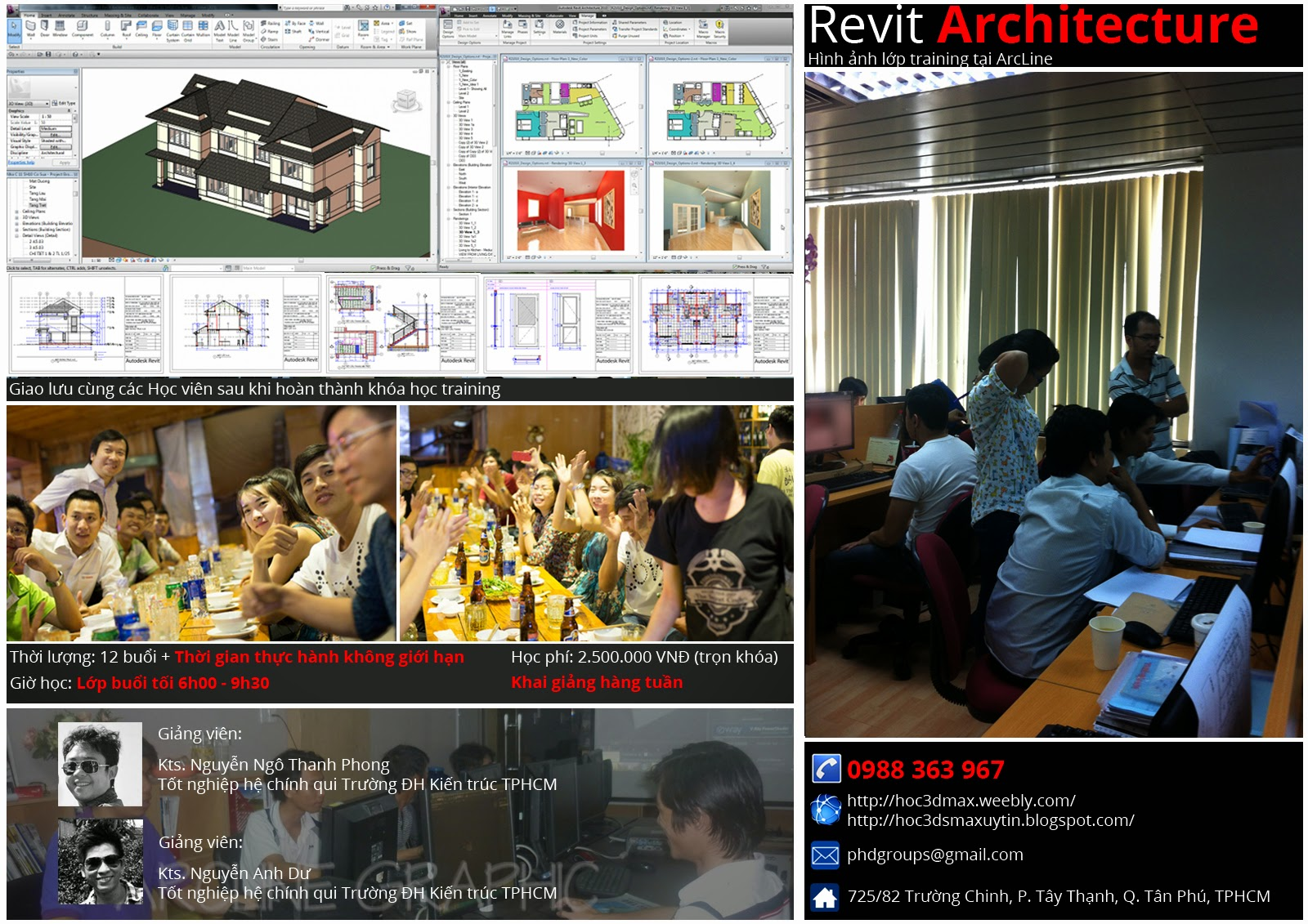 học họa viên kiến trúc, học 3d max 4