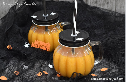 The Optimum 9400 mini jug and a Mango Ginger Smoothie Halloween Special