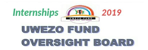 Internships at Uwezo Fund 2019