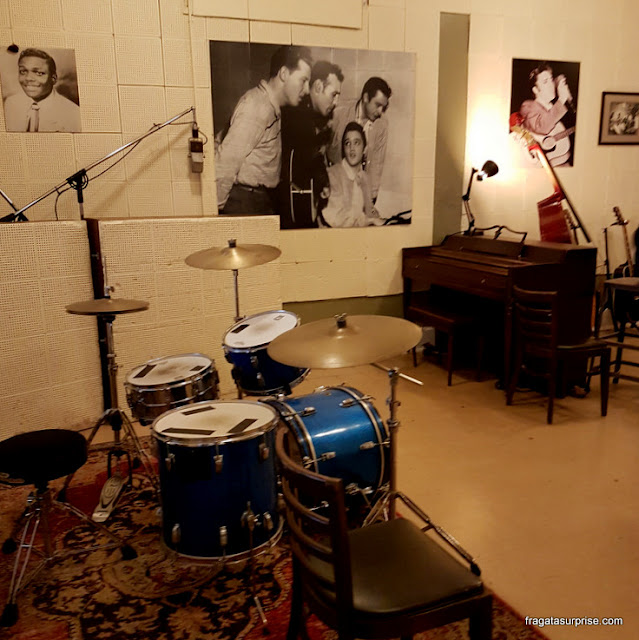 Interior do Sun Studio