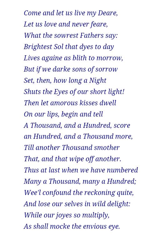 Wedding ring poem