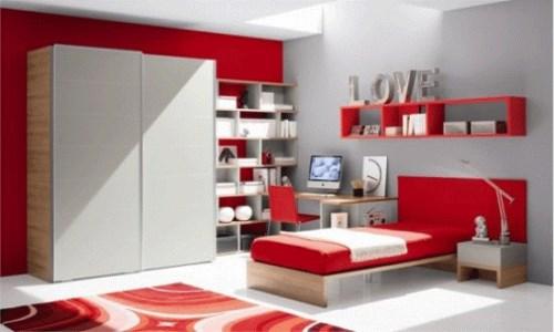 Contoh Warna cat kamar tidur minimalis suami-istri