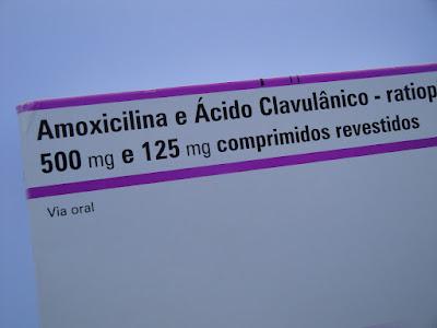 A pílula anticoncepcional e a amoxicilina + ácido clavulânico