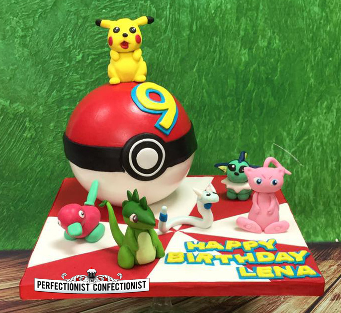 The Perfectionist Confectionist Lena Pkeball Pikachu and