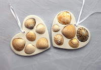 http://www.thediyfox.com/2015/10/sea-shell-decorations.html