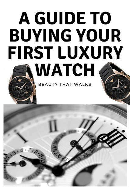 A Guide to Buying Your First Luxury Watch