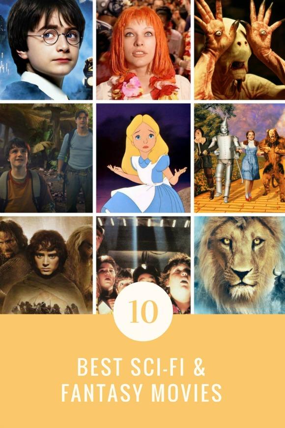 best sci-fi fantasy movies