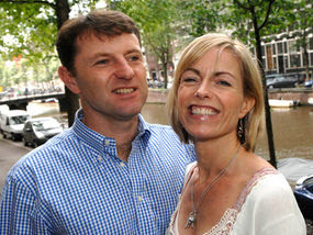 The McCanns and the media Kate%2Band%2BGerry%2BAmsterdam%2Bbook%2Btour