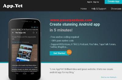membuat aplikasi android tanpa coding dengan appclay