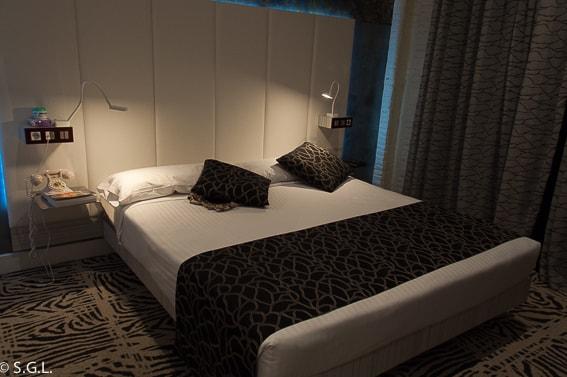 Habitacion hotel Petit Palace Savoy Alfonso XII. Madrid