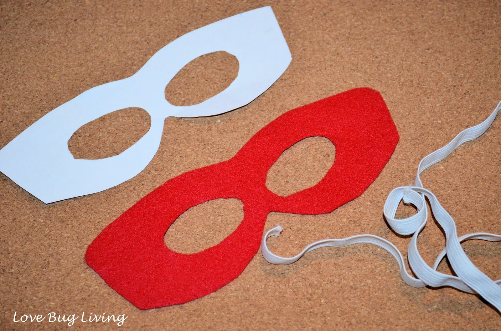 Pattern Ninja Turtle Masks Felt