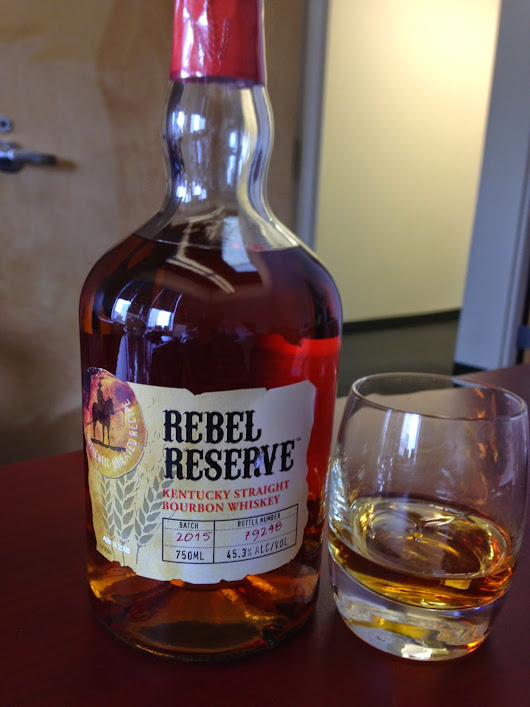 Rebel Reserve. The Bourbon that The Coopered Tot was looking for?
