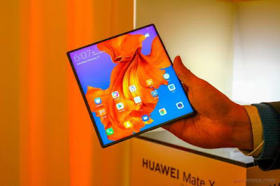 new information about huawei mate x folding phone