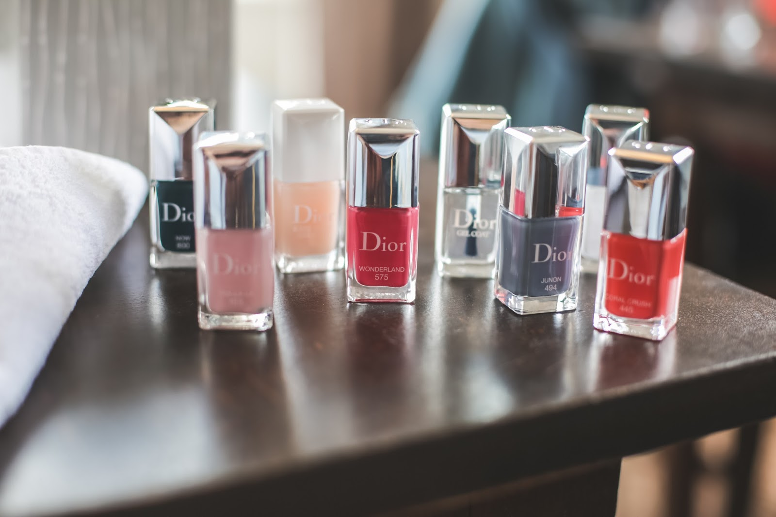 collection vernis Dior california