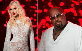 Christina Aguilera and Cee Lo Green
