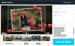 Cara Mudah Membuat foto Slide show yang Cantik dan menarik