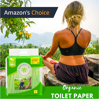 WHOLEROLL-Organic Bathroom Tissue made from Bamboo