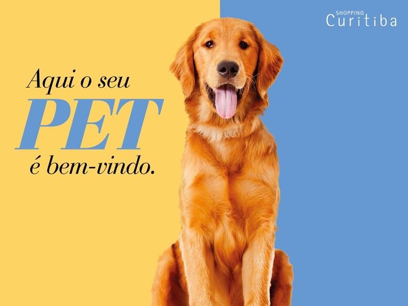 Shopping é o primeiro de Curitiba a aceitar animais de grande porte
