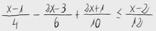 16.Inecuación de primer grado (fracciones) 3