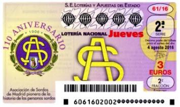Loteria nacional jueves 4 agosto
