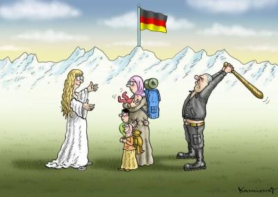 Η κατακόρυφη άνοδος της ακροδεξιάς στη Γερμανία και ο μύθος των προσφύγων
