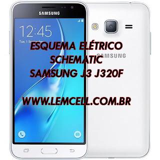 Esquema Elétrico Celular Smartphone Samsung Galaxy J3 J320F Manual de Serviço  Service Manual schematic Diagram Cell Phone Smartphone Samsung Galaxy J3 J320F