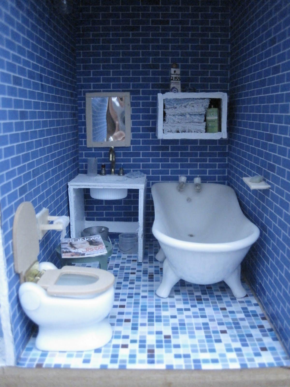 Dollhouses are cool Bathroom sink