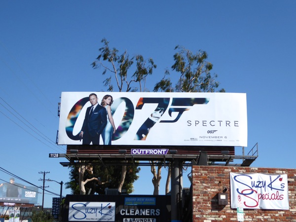 007 Spectre movie billboard