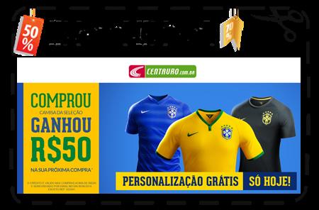 4b6fc4616b Centauro - Camisas Nike do Brasil a partir de R 99