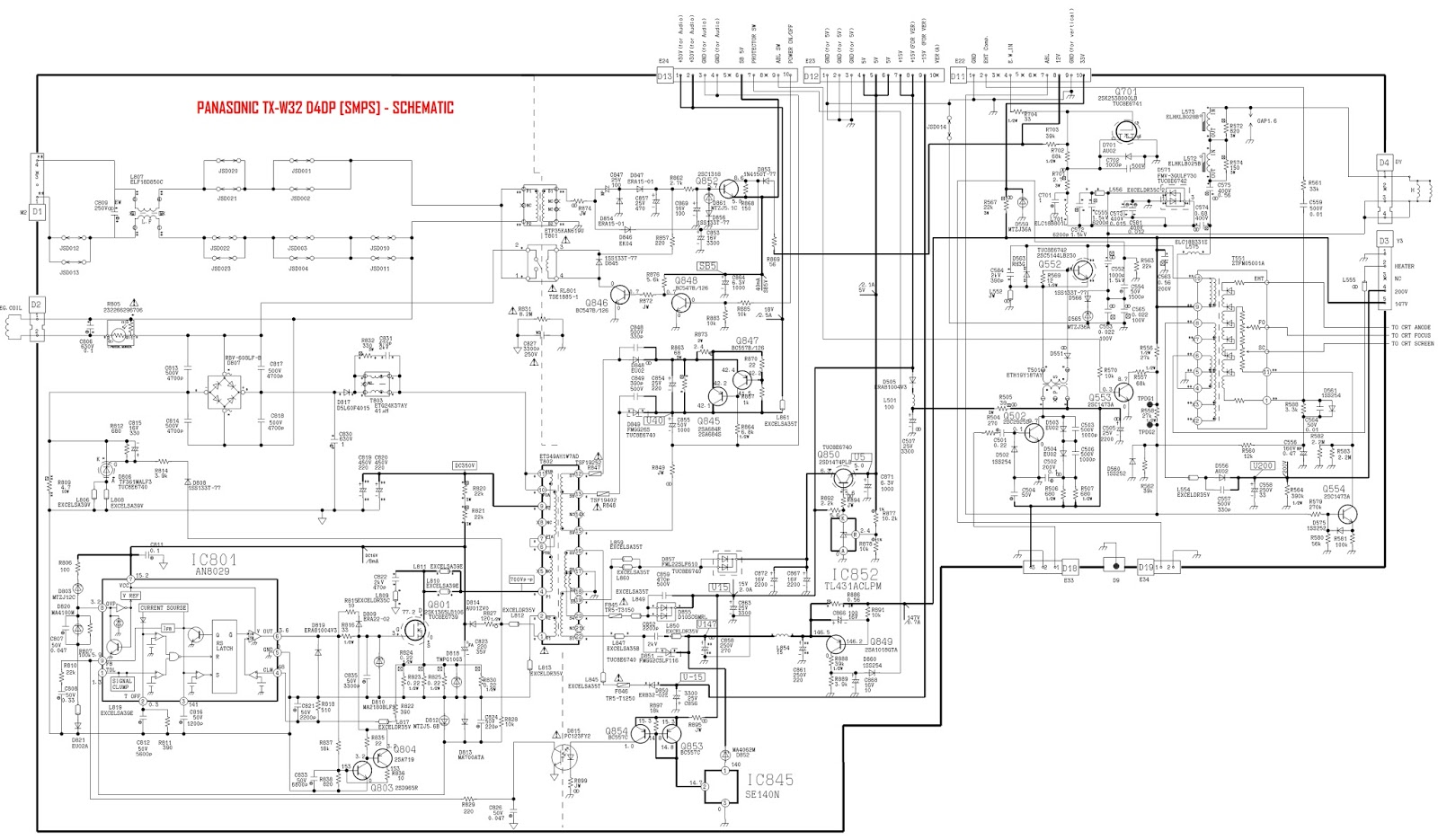 electro help: sharp pz-43mr2e - pz-50mr2e lcd tv- how to ... panasonic tv wiring diagram panasonic tv wiring diagrams