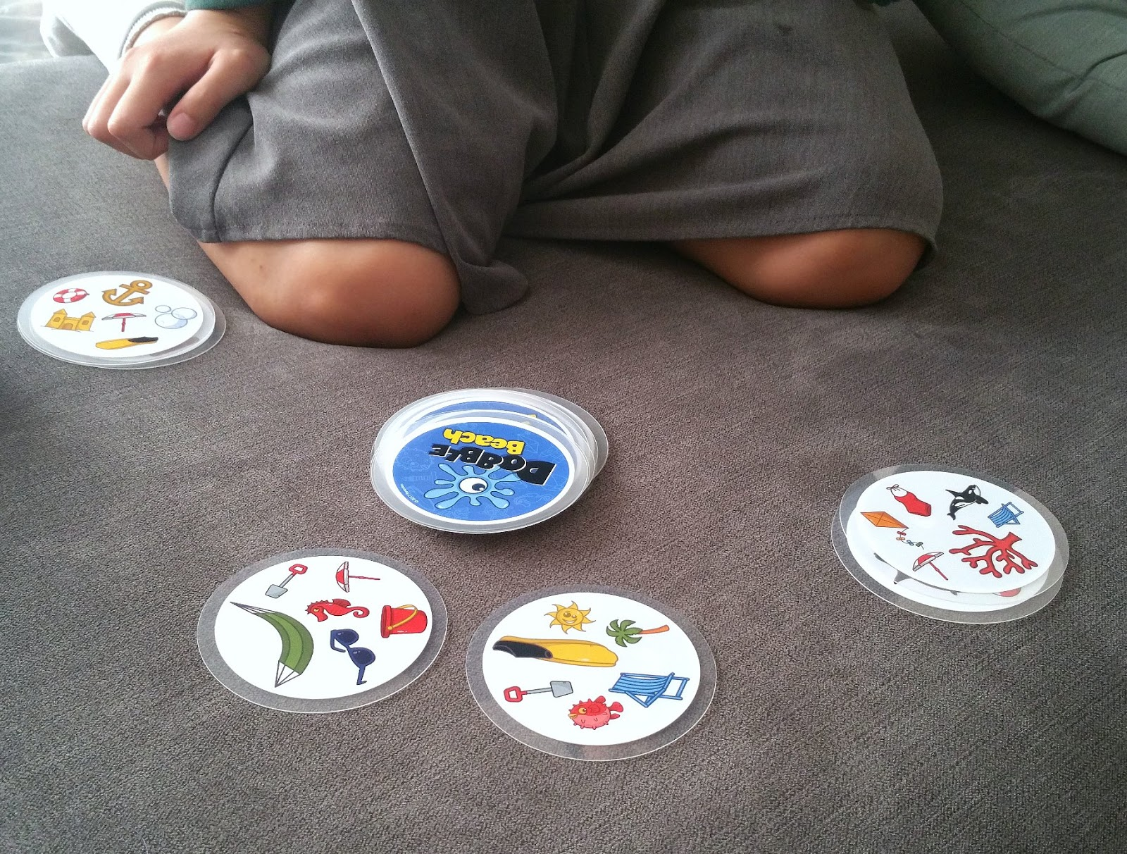 Dobble, games for the beach, games for travelling