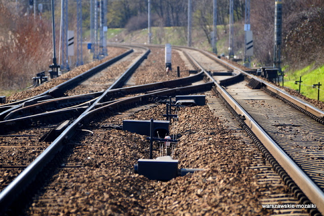 tory kolej Warszawa Warsaw Wola Jelonki miasto ogród ulica
