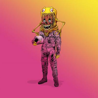 The Astronaut Vinyl Figure by Alex Pardee x ToyQube