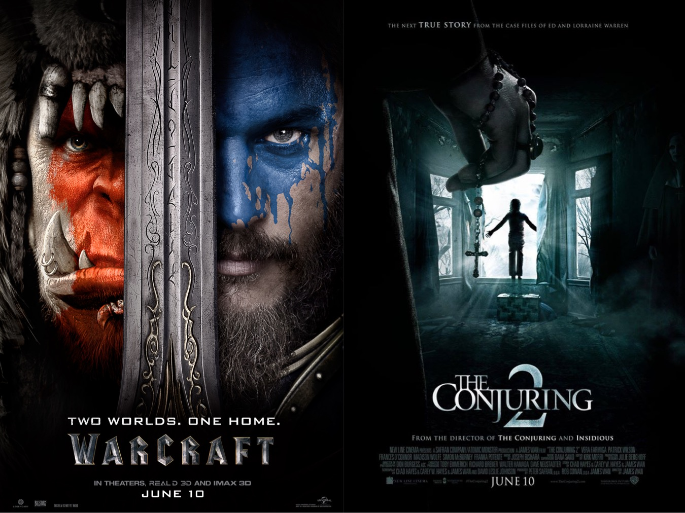 Out Now with Aaron and Abe Episode 243: Warcraft & The Conjuring 2