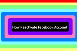 Facebook Reactivate