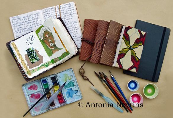 stages carnet carnets stage de voyage paris antonia neyrins pat masioni aquarelle  dessin croquis jade