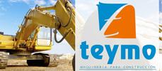 Teymo empresa dedicada al alquiler de maquinarias para la construcción, tenemos más de 30 años de experiencia
