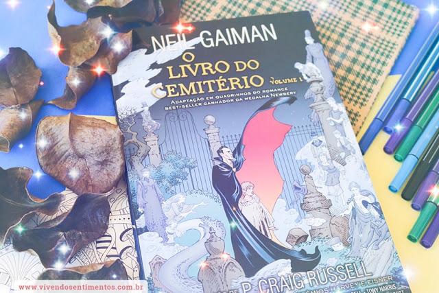 O Livro do Cemitério - Volume 1 - Neil Gaiman