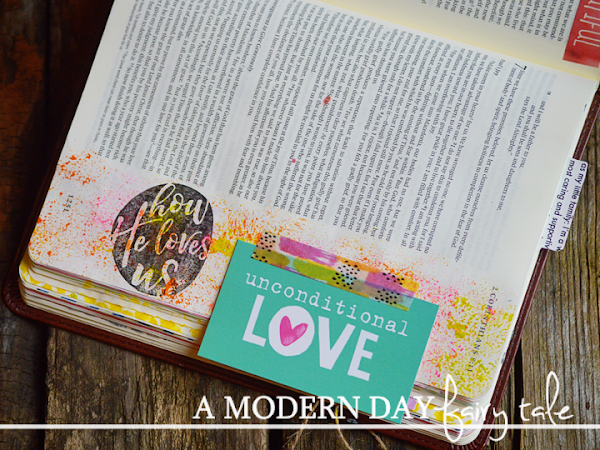 How He Loves Us {Journaling Through October's Monthly Devotional} #IllustratedFaith  #DaySpring  #IF_HowHeLovesUs  #Biblejournaling