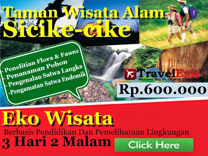 Ekowisata taman Wisata Alam Sicike cike